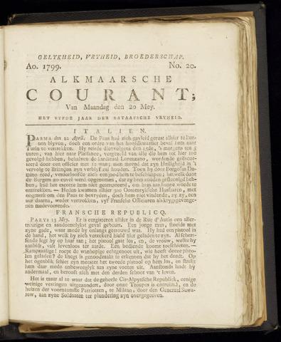 Alkmaarsche Courant 1799-05-20