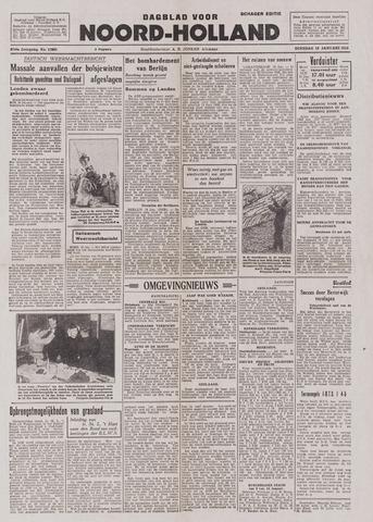 Dagblad Noord-Holland, Schager editie 1943-01-19