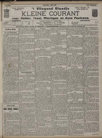 Vliegend blaadje : nieuws- en advertentiebode voor Den Helder 1909-05-01