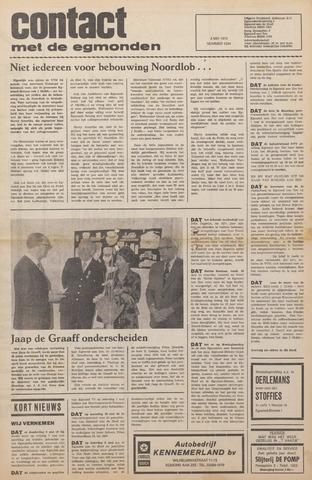 Contact met de Egmonden 1976-05-05