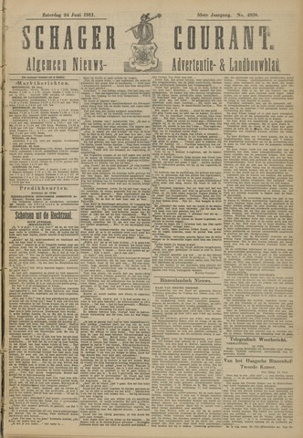 Schager Courant 1911-06-24