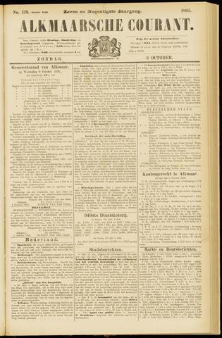 Alkmaarsche Courant 1895-10-06