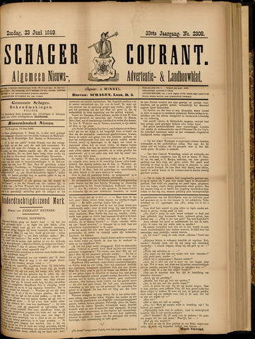 Schager Courant 1889-06-23