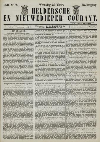 Heldersche en Nieuwedieper Courant 1870-03-30