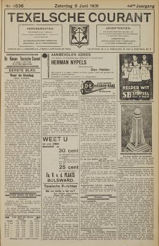 Texelsche Courant 1931-06-06