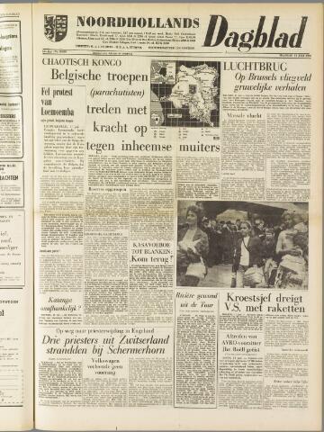 Noordhollands Dagblad : dagblad voor Alkmaar en omgeving 1960-07-11