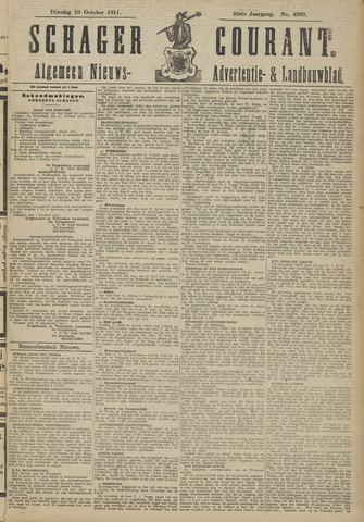 Schager Courant 1911-10-10
