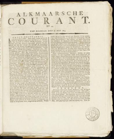 Alkmaarsche Courant 1814-05-16
