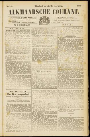 Alkmaarsche Courant 1902-07-09