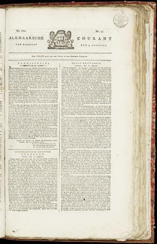 Alkmaarsche Courant 1821-08-27