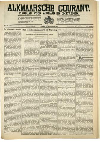Alkmaarsche Courant 1937-09-24