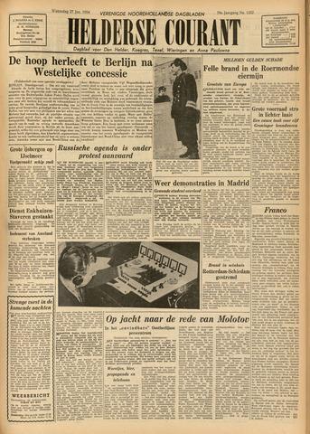 Heldersche Courant 1954-01-27