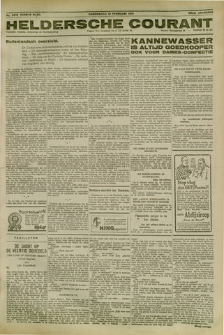 Heldersche Courant 1931-02-12