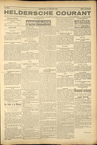 Heldersche Courant 1927-02-17