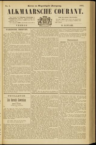 Alkmaarsche Courant 1895-01-11
