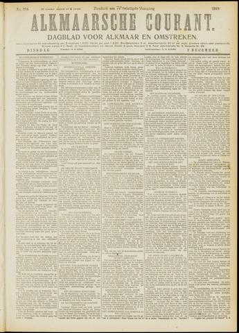 Alkmaarsche Courant 1919-12-02