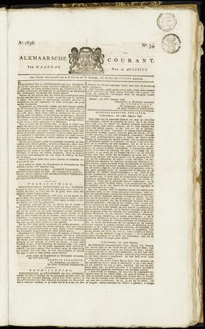Alkmaarsche Courant 1836-08-22