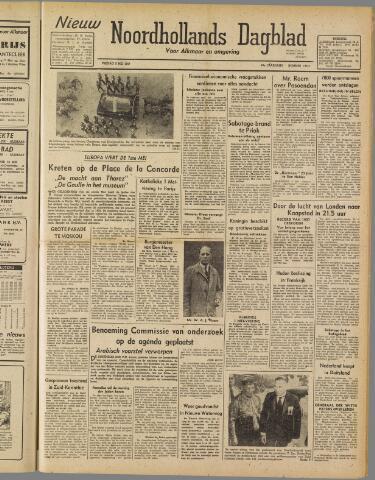 Nieuw Noordhollandsch Dagblad : voor Alkmaar en omgeving 1947-05-02