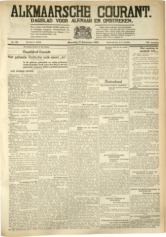 Alkmaarsche Courant 1933-11-13