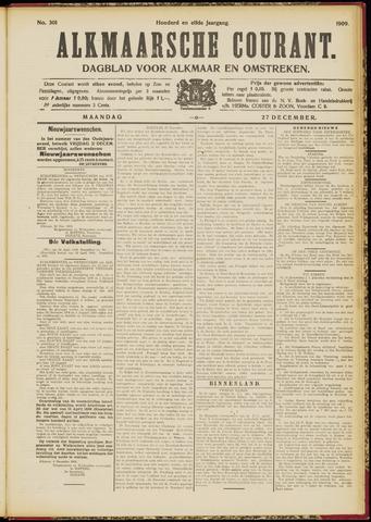 Alkmaarsche Courant 1909-12-27