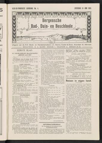 Bergensche bad-, duin- en boschbode 1933-06-24