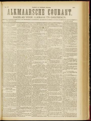 Alkmaarsche Courant 1918-10-09