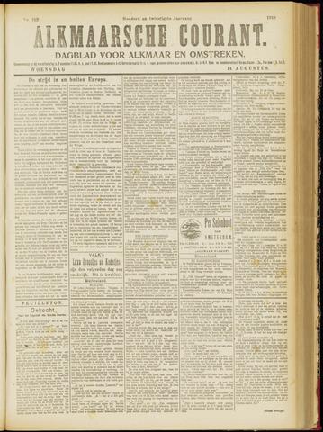 Alkmaarsche Courant 1918-08-14