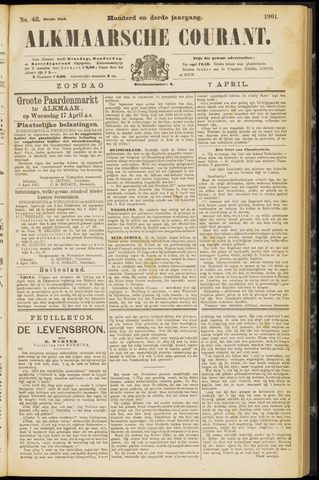 Alkmaarsche Courant 1901-04-07