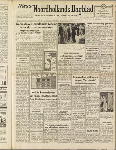 Nieuw Noordhollandsch Dagblad : voor Alkmaar en omgeving 1949-06-29
