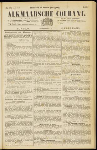 Alkmaarsche Courant 1899-02-26