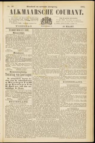 Alkmaarsche Courant 1905-03-29