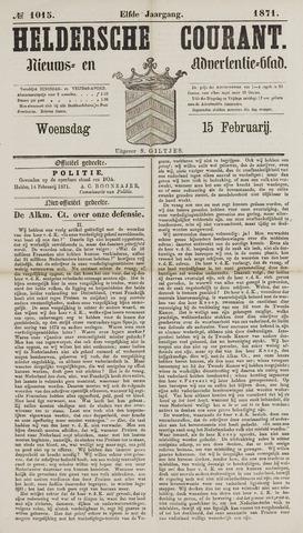 Heldersche Courant 1871-02-15