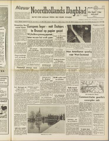 Nieuw Noordhollandsch Dagblad : voor Alkmaar en omgeving 1950-12-20