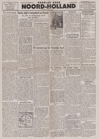 Dagblad Noord-Holland, Schager editie 1943-11-27