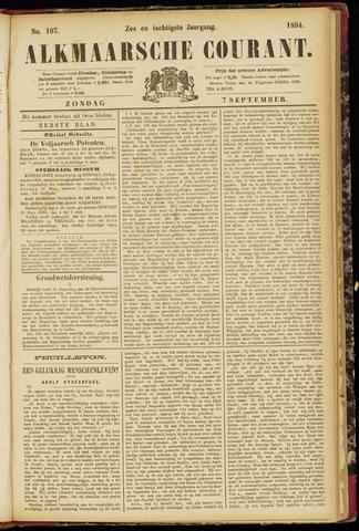 Alkmaarsche Courant 1884-09-07