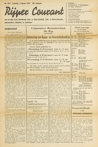 Rijper Courant 1947-02-01
