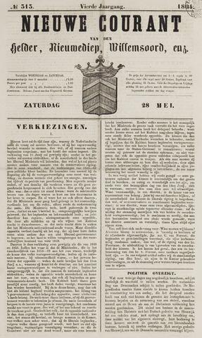 Nieuwe Courant van Den Helder 1864-05-28