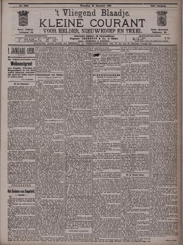 Vliegend blaadje : nieuws- en advertentiebode voor Den Helder 1897-12-22