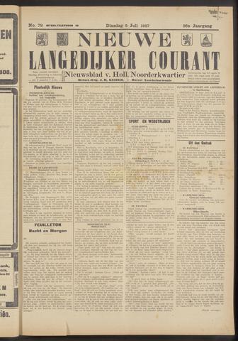 Nieuwe Langedijker Courant 1927-07-05