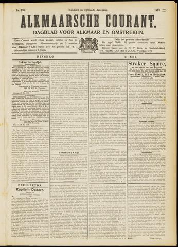 Alkmaarsche Courant 1913-05-27