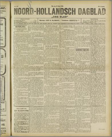 Ons Blad : katholiek nieuwsblad voor N-H 1922-03-13