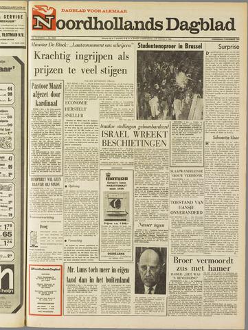 Noordhollands Dagblad : dagblad voor Alkmaar en omgeving 1968-12-05