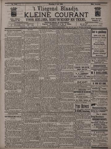 Vliegend blaadje : nieuws- en advertentiebode voor Den Helder 1896-07-08