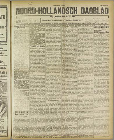Ons Blad : katholiek nieuwsblad voor N-H 1921-07-27