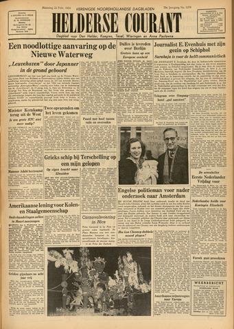 Heldersche Courant 1954-02-22