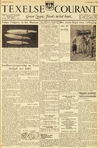 Texelsche Courant 1960-05-21