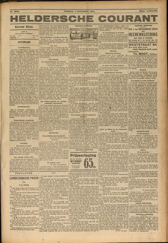 Heldersche Courant 1924-11-04