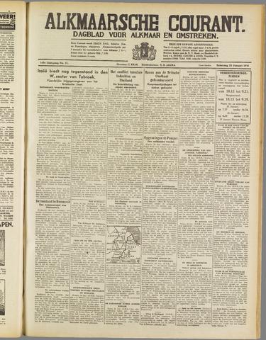 Alkmaarsche Courant 1941-01-25