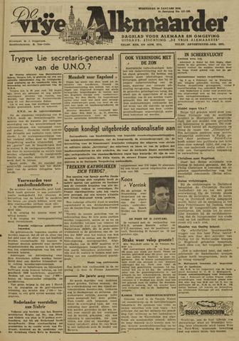 De Vrije Alkmaarder 1946-01-30