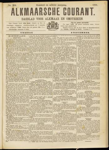 Alkmaarsche Courant 1906-11-09